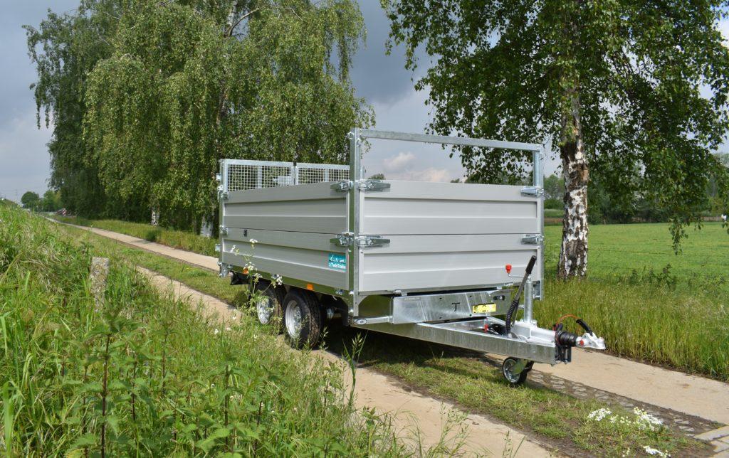 TwinTrailer TT27-30 – 309×183 – 3000kg met AluMate 400 opzetborden