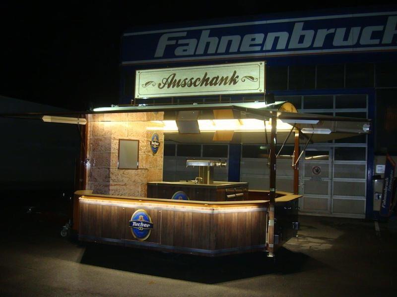 Fahnenbruk Tapwagen Flair met koelruimte