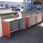 Fahnenbruck Combi Cooler koelwagen promotietrailer inklapbare meubels