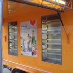Fahnenbruck Combi Cooler koelwagen promotietrailer met ingebouwde koelkasten
