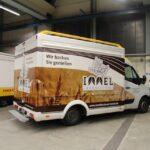 Gamo Back-Master 330 Back & Snack bakkerswagen verkoopwagen schuin van achter