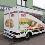 Gamo Back-Master 330 Back & Snack bakkerswagen verkoopwagen buitenzijde