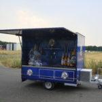 Fahnenbruck Party Mini Cooler l tapwagen koelwagen geopende klep