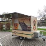 Fahnenbruck Party Mini Cooler l tapwagen koelwagen verkoopklep geopend
