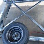 TwinTrailer TT30-30 - 3000kg versie met gelast kruis in chassis