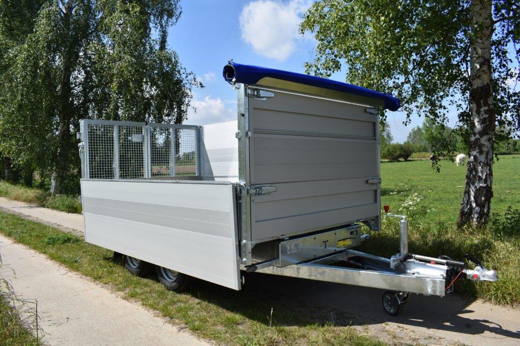 TwinTrailer 800mm opzetbord