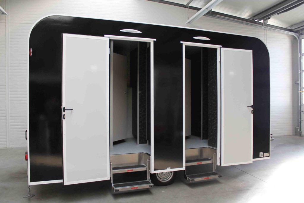GAMO FTT460 Retro toiletwagen met afgerond dak