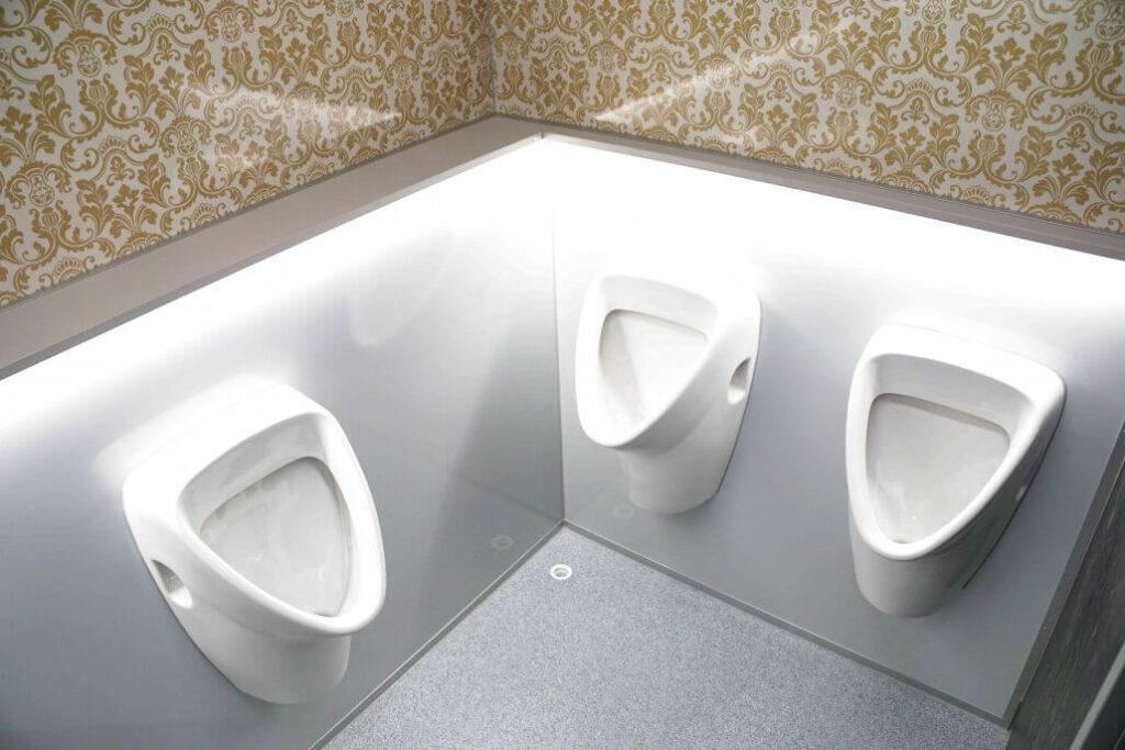 GAMO FTT460 Retro toiletwagen urinoirs met LED sfeerlicht