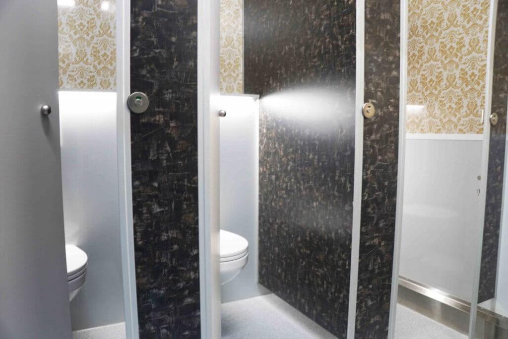 GAMO FTT460 Retro toiletwagen damestoiletten met sfeerlicht