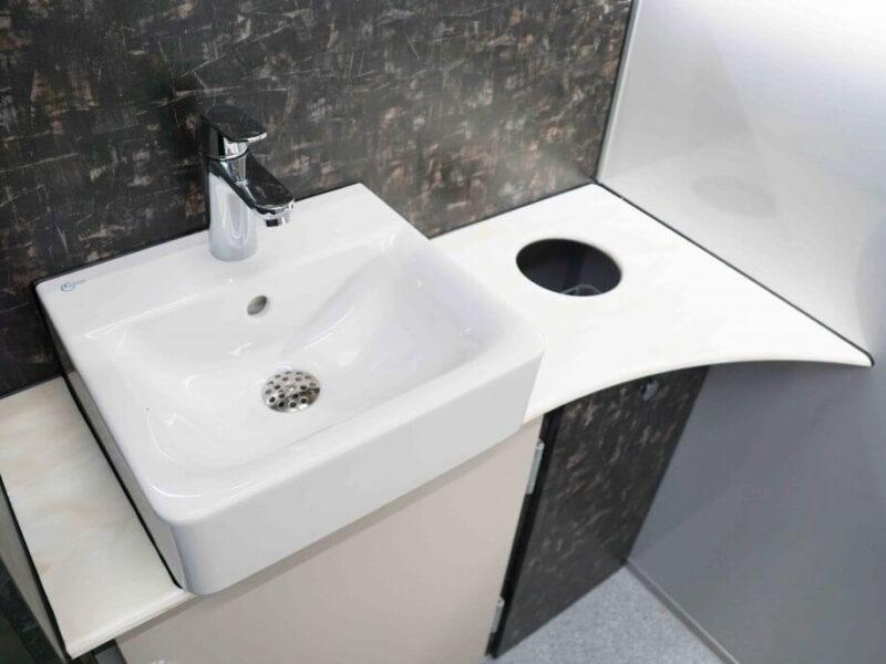 GAMO FTT460 Retro toiletwagen luxe wastafelmeubel