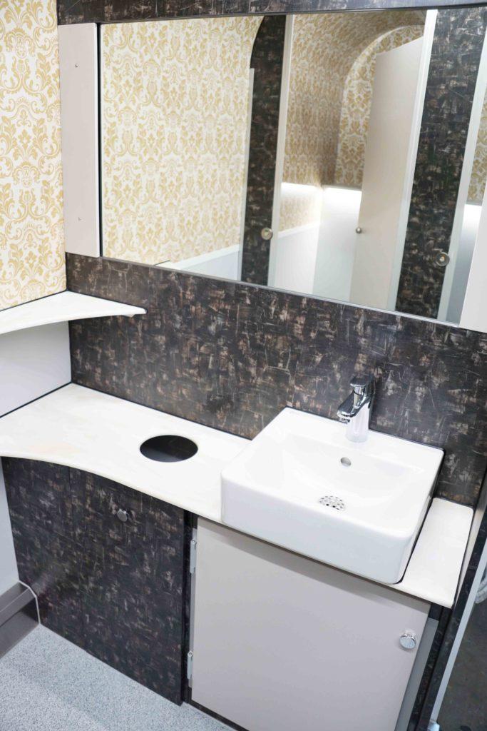 GAMO FTT460 Retro toiletwagen dames wastafelmeubel
