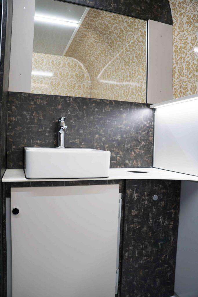 GAMO FTT460 Retro toiletwagen heren wastafelmeubel met kast