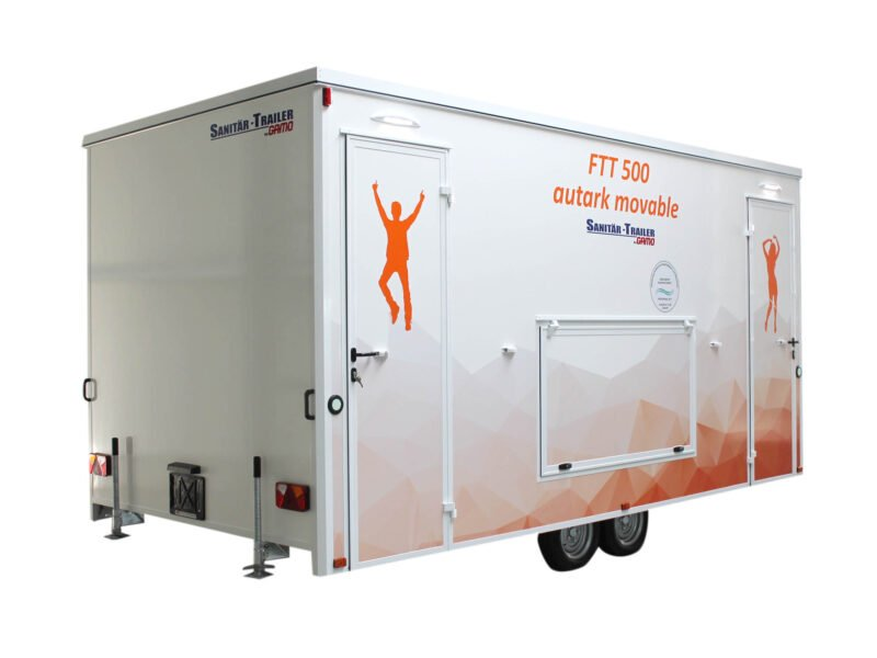 GAMO FTT500 autonome toiletwagen