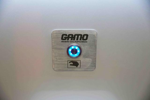 GAMO FTT500 Autark Autonome toiletwagen spoelknop vacuüm toiletten