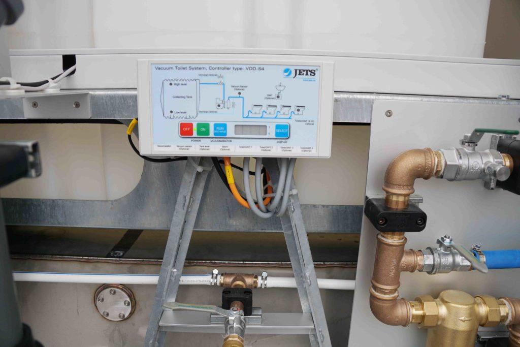 GAMO FTT500 Autark Autonome toiletwagen JETS vacuüm systeem