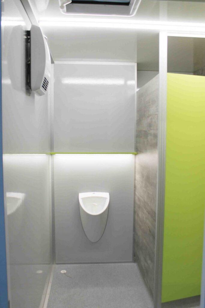 GAMO FTT320 toiletwagen, waterloos urinoir