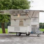Fahnenbruck Party Mini Cooler koelwagen tapwagen kleppen geopend