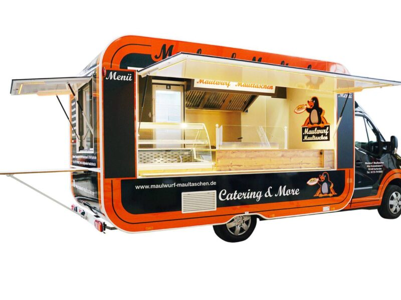 GAMO Food-Truck Street Food Master 400 Retro
