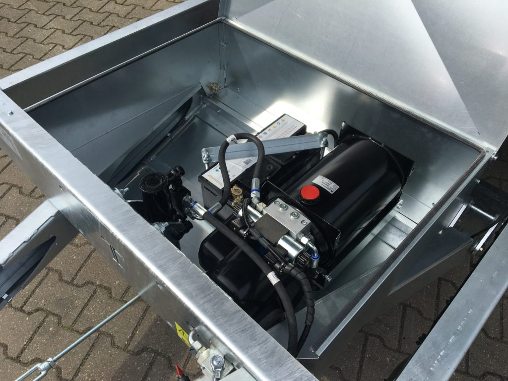 TwinTrailer TT35-35 - 352-192 - 3500kg de pomp unit en accu