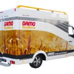 Gamo Back-Master 330 Back & Snack bakkerswagen verkoopwagen rechterzijde