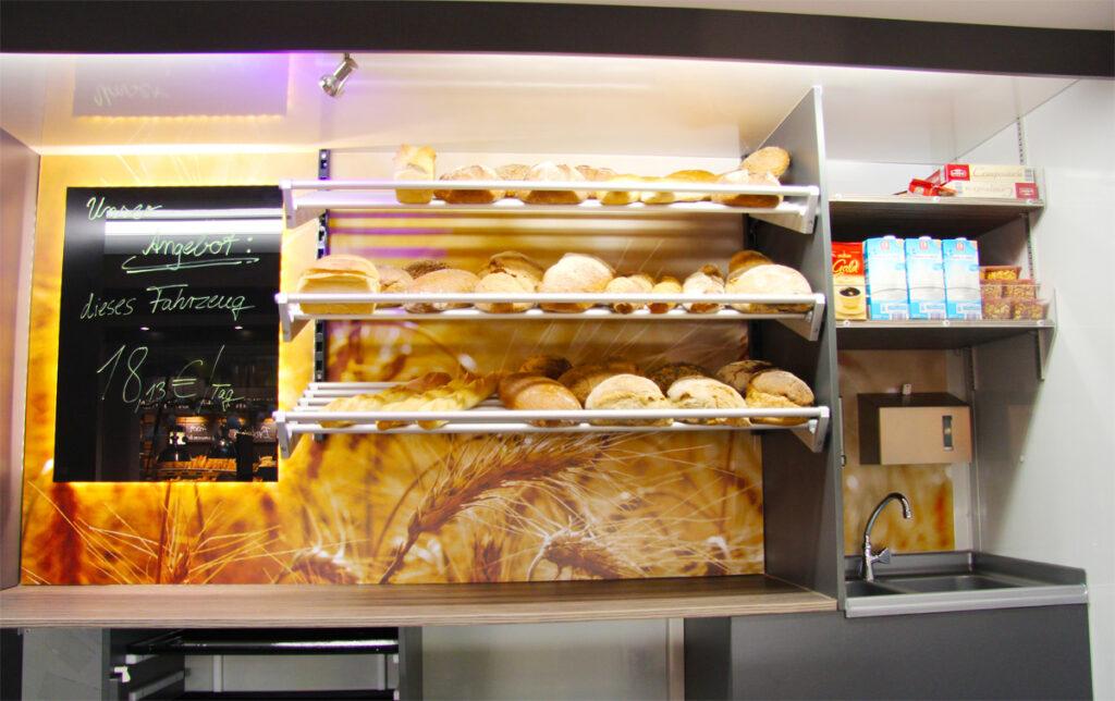 Gamo Back-Master 330 Back & Snack bakkerswagen verkoopwagen broodplanken
