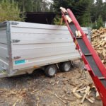 TwinTrailer TT35-40 houtklover