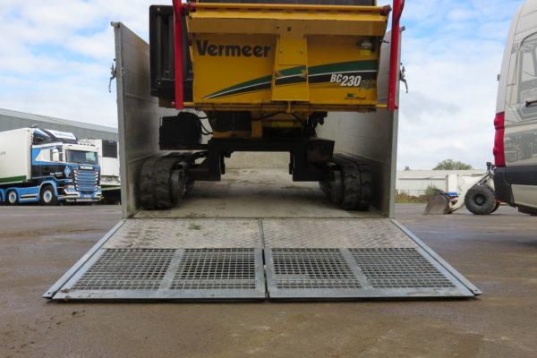 TwinTrailer TT35-35 - 352-192 - 3500kg versnipperaar laden