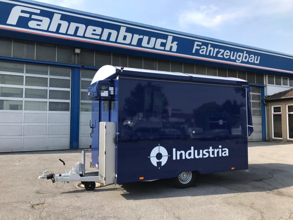 Fahnenbruck tapwagen Junior met koelruimte
