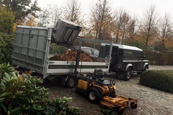 TwinTrailer TT35-35 - 352-192 - 3500kg zijdelings beladen