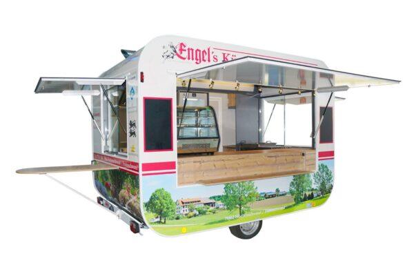 GAMO RETROLINER RL340 food-trailer volledig beplakt