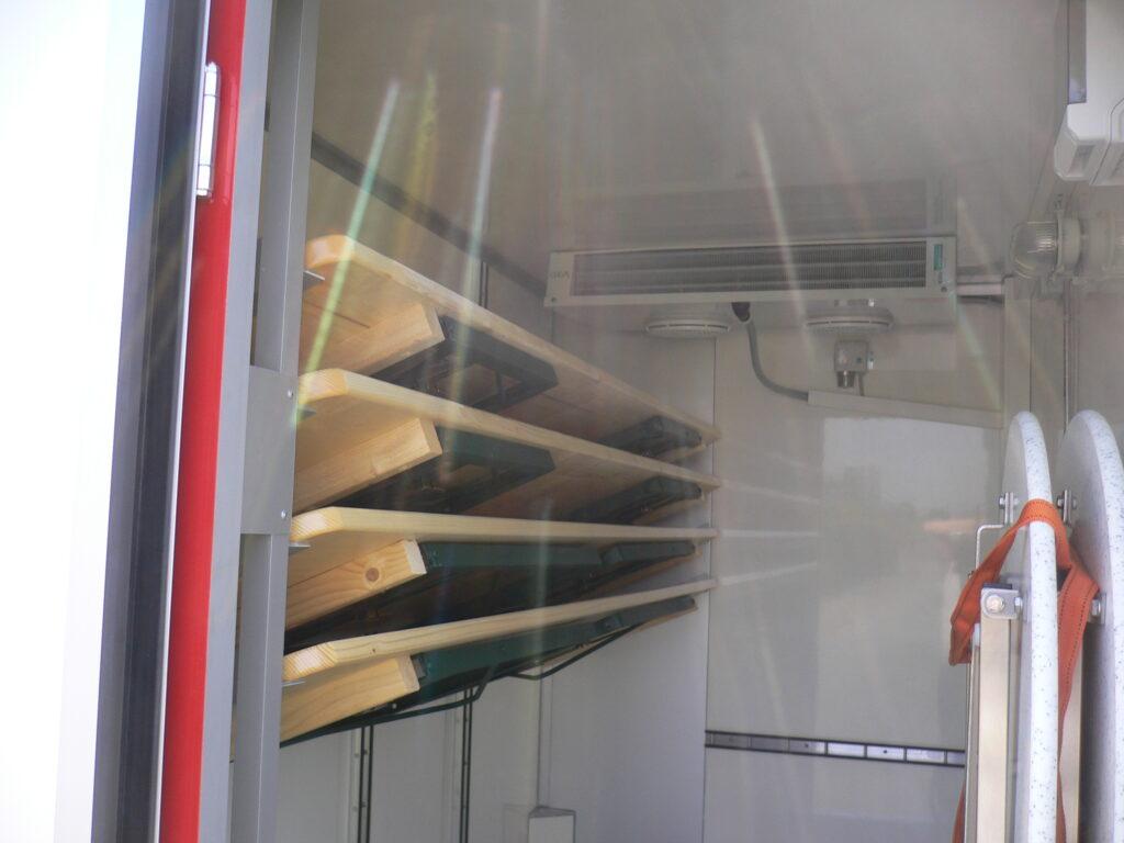 Fahnenbruck Party Mini Cooler XL koelwagen tapwagen met opbergruimte