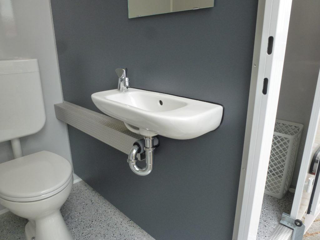 GAMO FTT 390 gehandicapten toiletwagen normaal toilet
