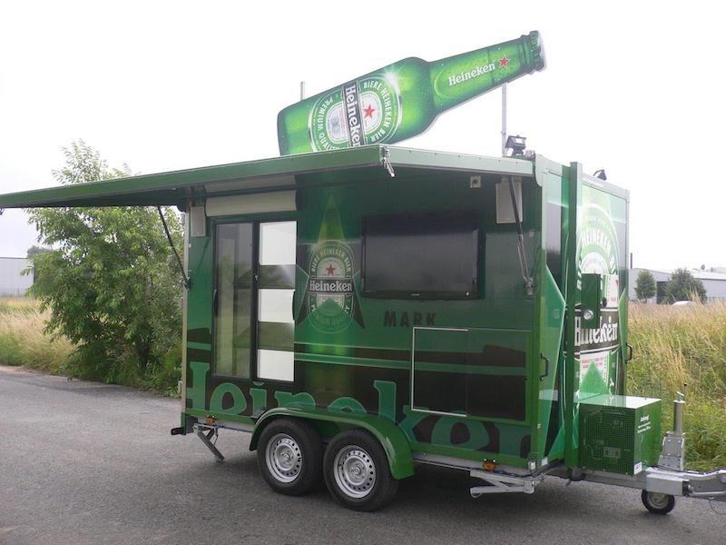 Fahnenbruck Kombi-Cooler promotie koelwagen