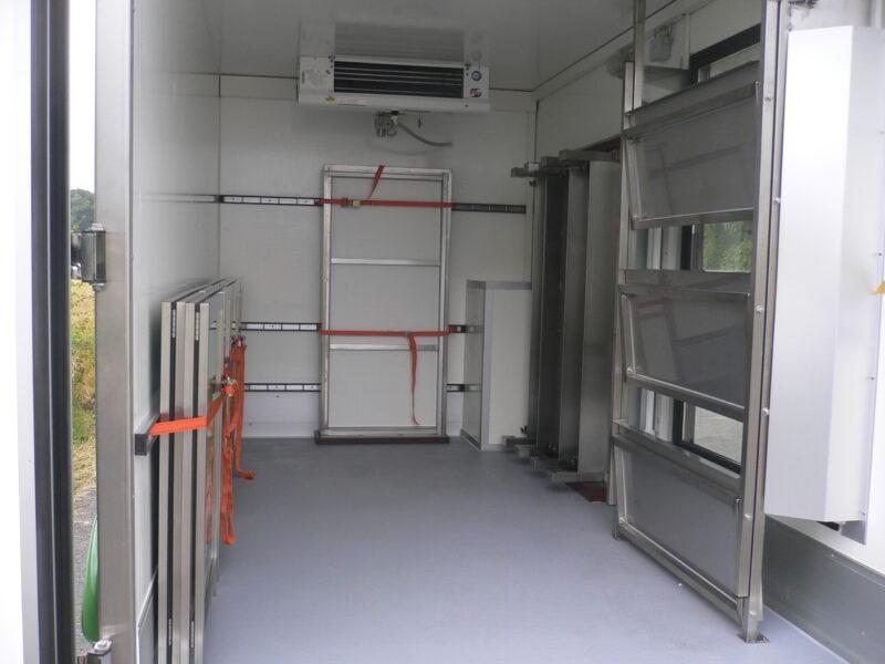 Fahnenbruck Kombi-Cooler laadruimte