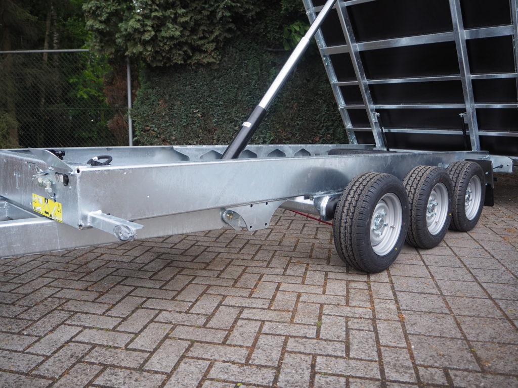 TwinTrailer TR35-40 - TridaX - 402x192 - 3500kg 3x1800kg as