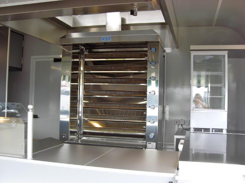 GAMO Retroliner RL 400 kippen grille verkoopwagen