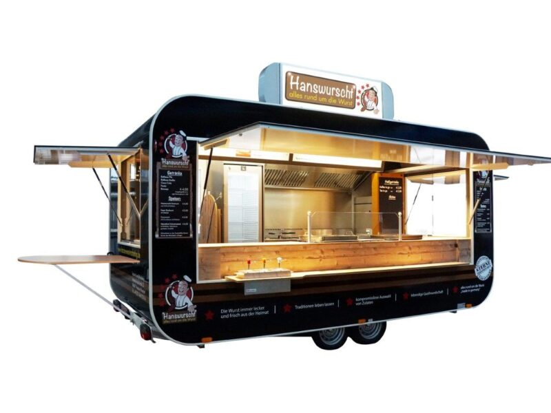 GAMO Retroliner RL460 Maxi Snack Food-Truck
