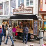 GAMO Retroliner Food-Truck, food trailer hamburger