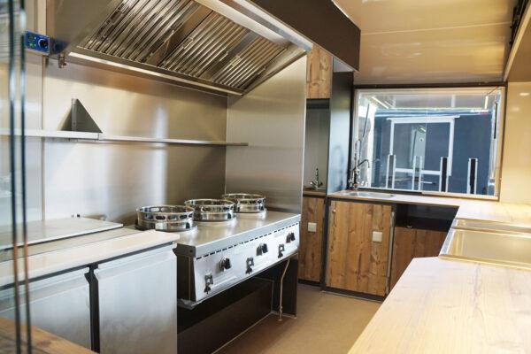 GAMO Retroliner RL 400 verkoopwagen pasta en wok gerechten