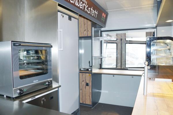 GAMO RETROLINER Foodtrailer met oven