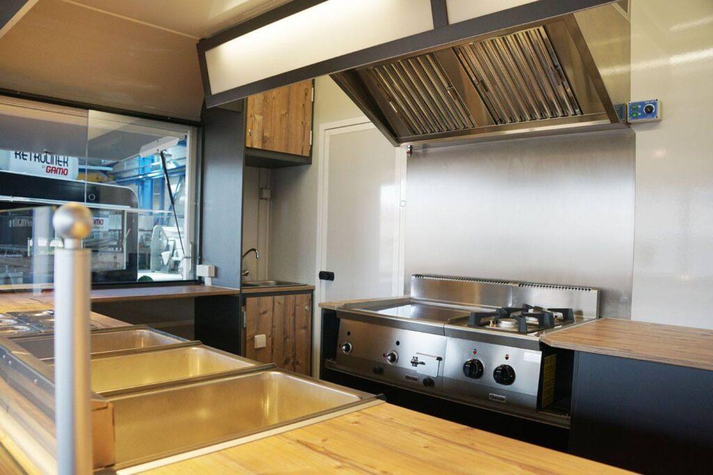 GAMO Streed Food Master Food Truck Retro 400 kookwand