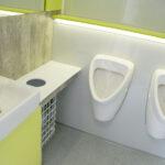 GAMO FTT610 toiletwagen urinoirs en wastafelmeubel