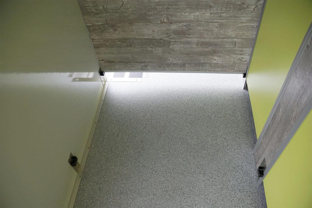 GAMO FTT610 toiletwagen verstelbare tussenwand