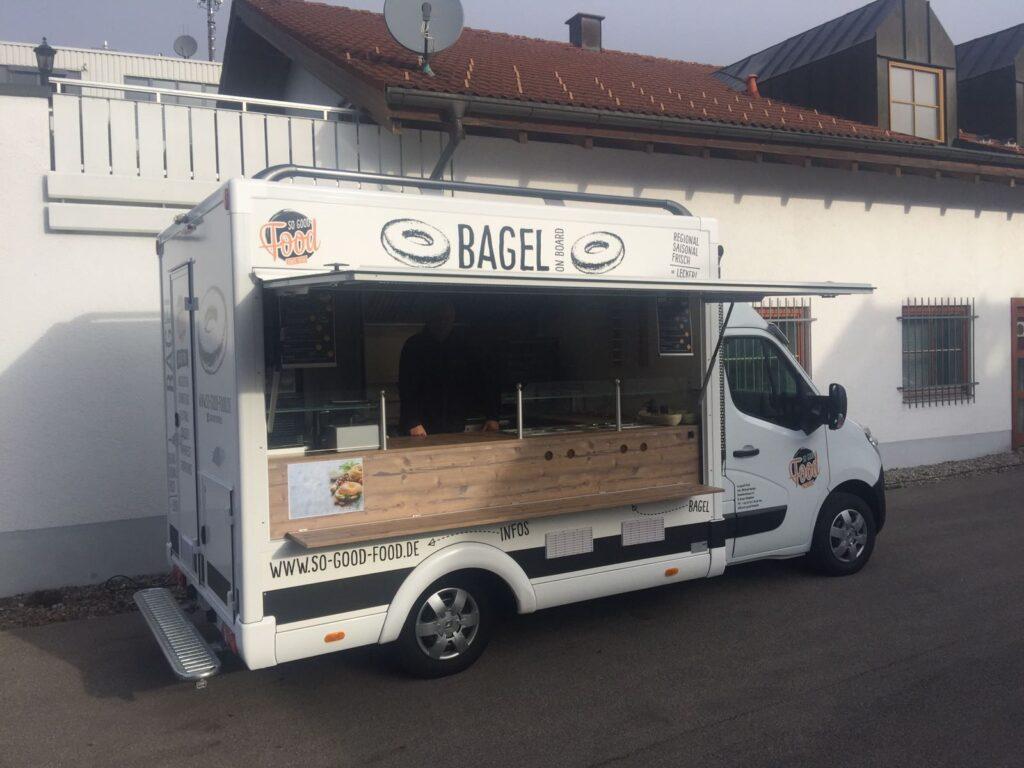 GAMO Food-Truck Street Food Master Bagels