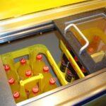 Fahnenbruck Party Mini Cooler tapwagen koelwagen frisdrank vitrine geopend