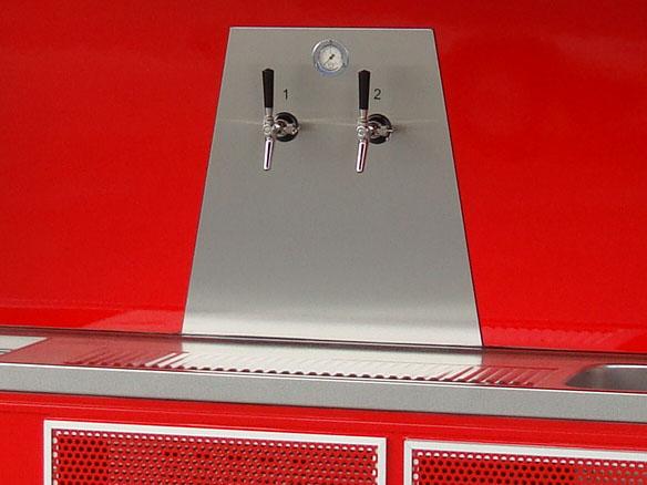 Fahnenbruck Party Mini Cooler tapwagen koelwagen biertap installatie
