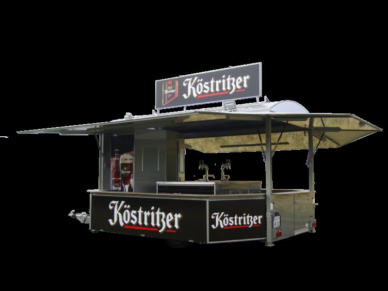 Fahnenbruck Flair tapwagen met koeling