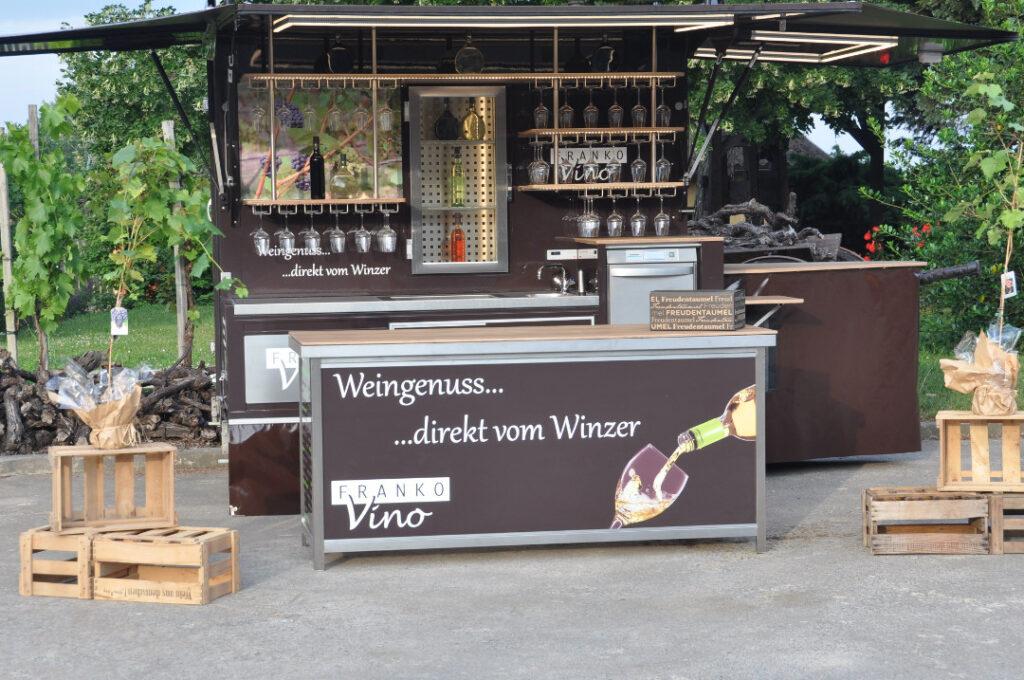 Fahnenbruck Party Mini Cooler koelwagen wijnpromotie