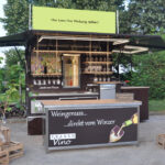 Fahnenbruck Vinobar Bachus koelwagen wijnpromotie