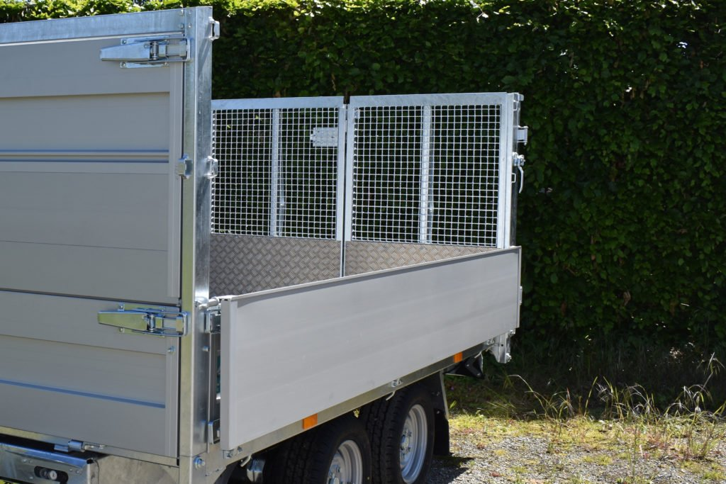 TT30-30 - 309x183 - 3000kg met opzetbord 400mm hoog